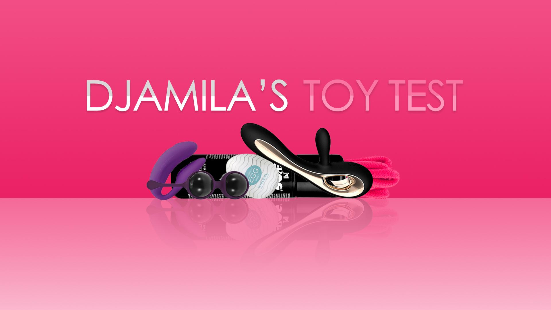 Geile foto van de hete Secret Circle seksfilm: Djamila's toy test