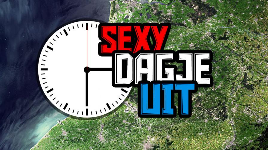 Geile foto van de hete Meiden van Holland programma: Sexy Dagje Uit