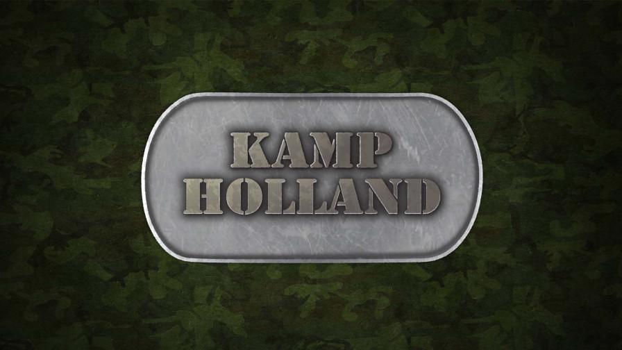 Geile foto van de hete Meiden van Holland programma: Kamp Holland