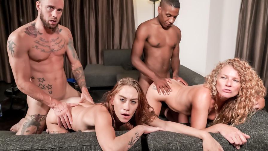 Geile foto van de hete Meiden van Holland sexfilm: Geile Hollandse orgie