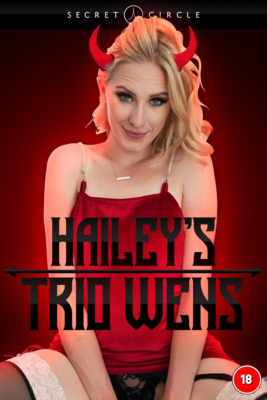 Geile foto van de hete Secret Circle seksfilm: Haileys triowens