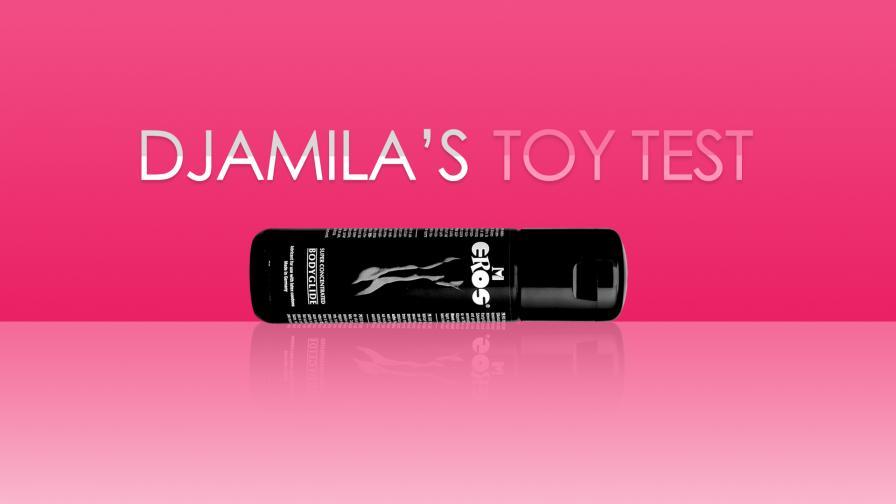 Geile foto van de Djamila's toy test aflevering: Glijmiddel