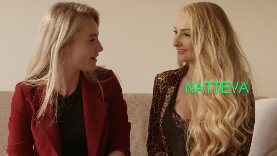 Geile foto van de Marith achter de webcam aflevering: Natteva