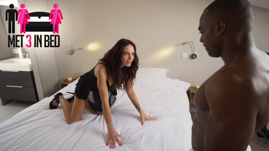 Geile foto van de Met 3 in bed aflevering: Verleiden